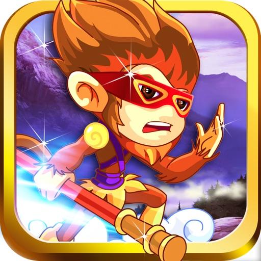 Angry Ninja Chimp Run - Jungle Adventure