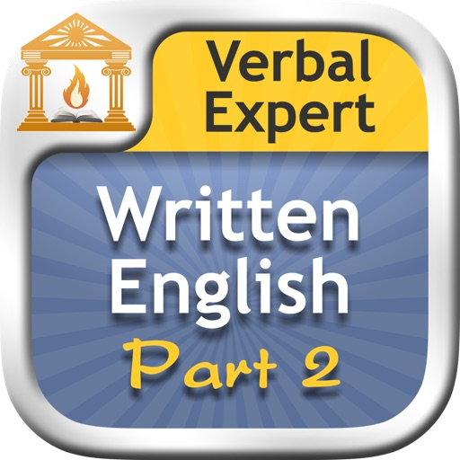 Verbal Expert : Written English Part 2