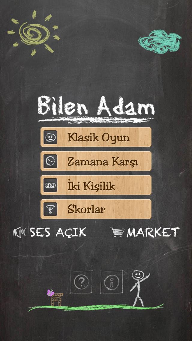 Bilen Adam - Adam Asmaca Kelime Oyunu