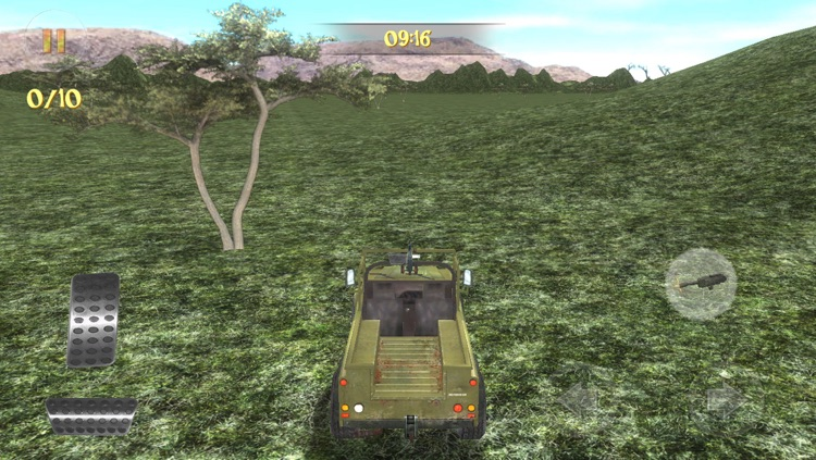Safari 4x4 Driving Simulator 2: Zombie Poacher Hunter screenshot-1