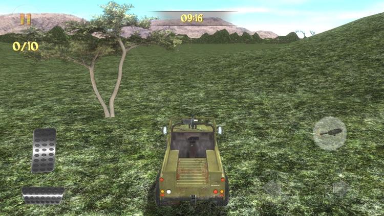 Safari 4x4 Driving Simulator 2: Zombie Poacher Hunter
