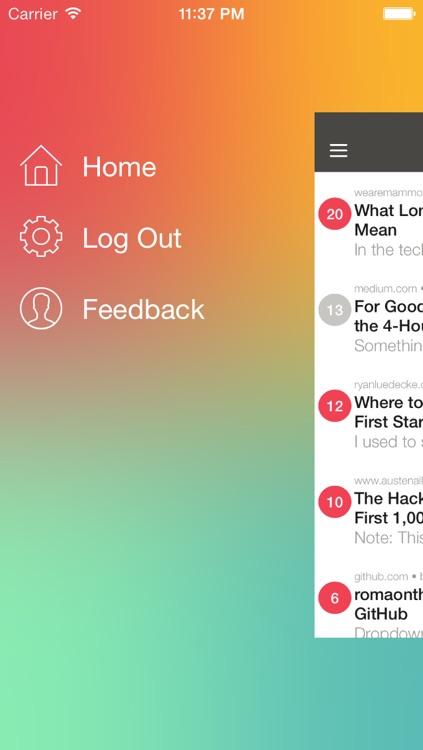 Feemur for Pocket screenshot-3