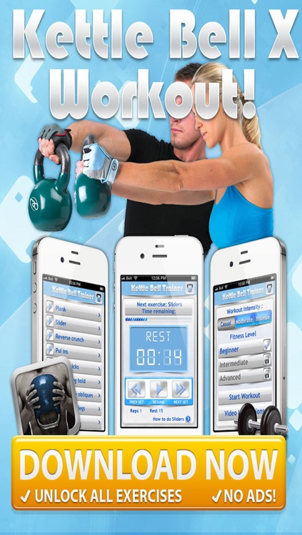 KettleBell & Dumbell Workout PRO - 5/7/10 Minute Weight Training Exercises screenshot-4