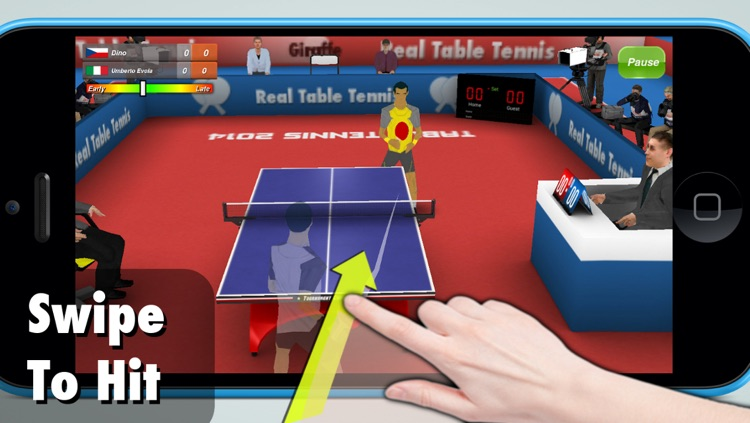 Real Table Tennis 3D