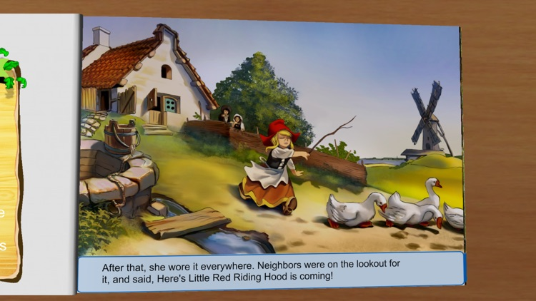 Little Red Riding Hood - Fairytale Storybooks screenshot-4