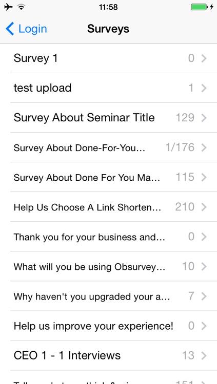 Obsurvey - surveys made easy