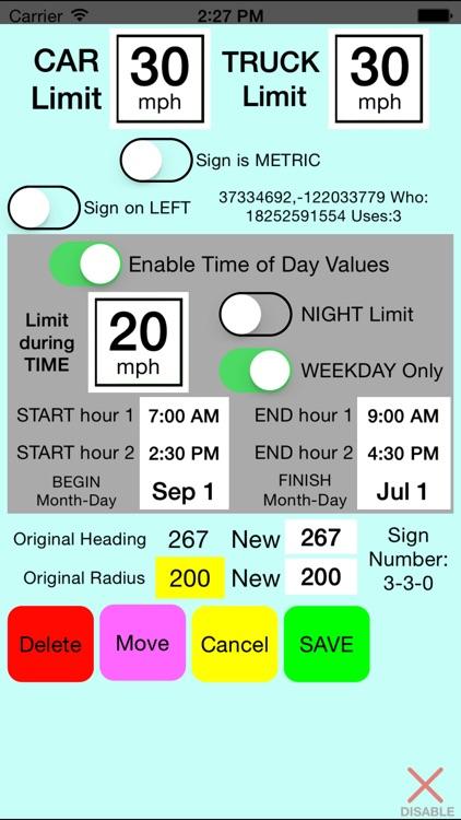 SpeedMinder Speed Limit App
