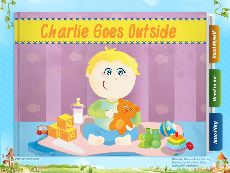 Charlie Goes Outside - Have fun with Pickatale while learning how to read!