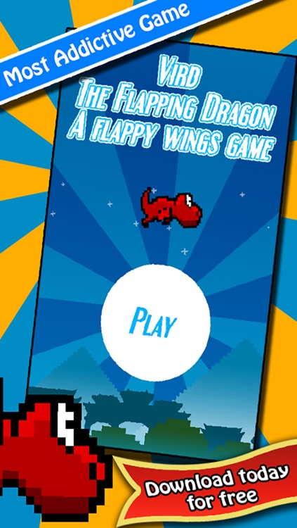 Vird The Flapping Dragon - 2 Player Flying Wings Game