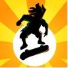 Pocket Skater Online: Xtreme Downhill Street Skate-Boarding & Roller-Blade Drift FREE