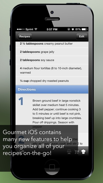 Gourmet Mobile screenshot-1