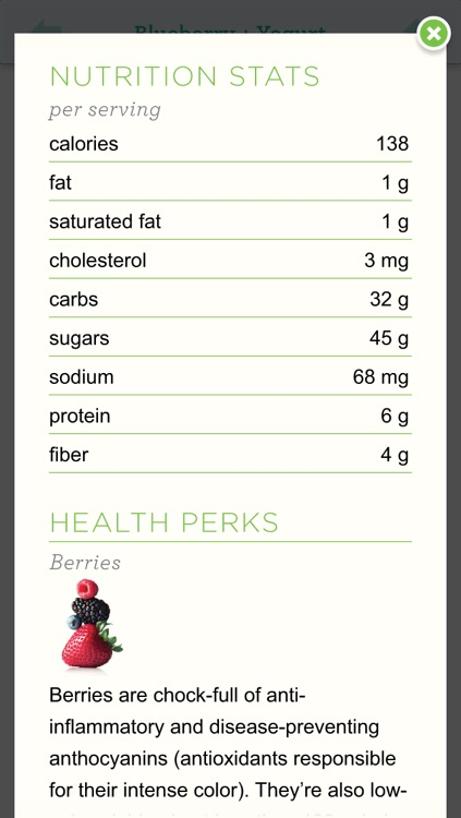 Smoothies from Whole Living for iPhone/iPod Touch screenshot-2