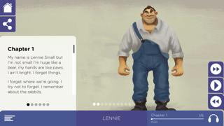 Of Mice and Men Study App screenshot two