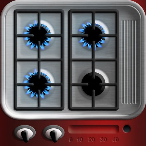KitchenLab: Easy roasting with multitimer and meat cuts & 365 daily tips! icon