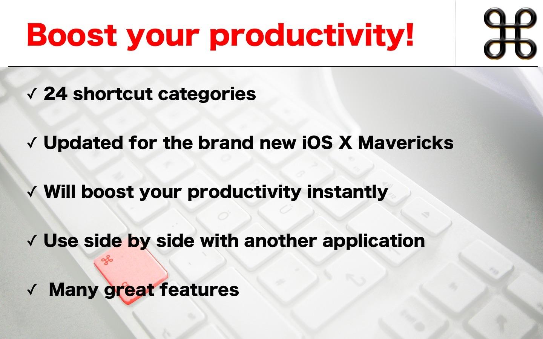 Screenshot do app Shortcuts for Mac
