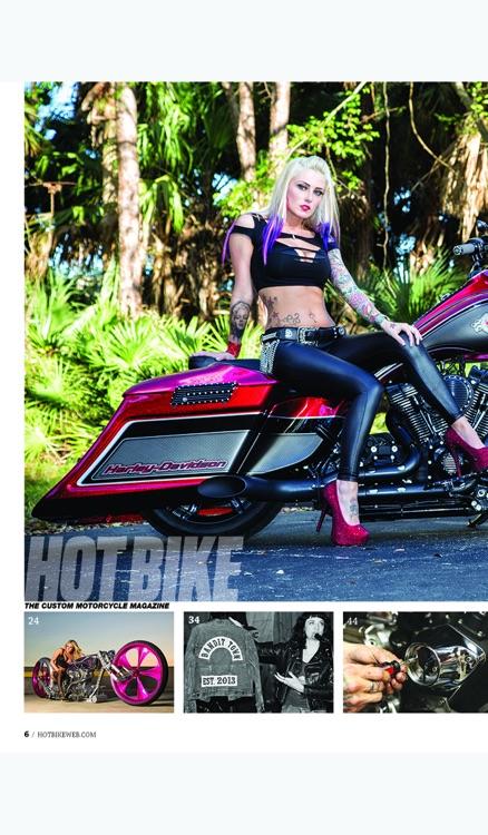 Hot Bike Magazine Archive