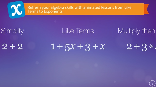 Algebra Touch Screenshot