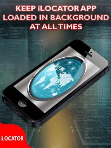 iLocator Free - Find And Locate Your Lost Phone iPad
