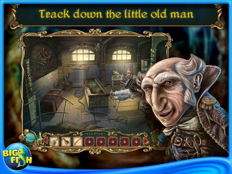 Haunted Legends: The Undertaker HD - A Hidden Object Adventure screenshot-3