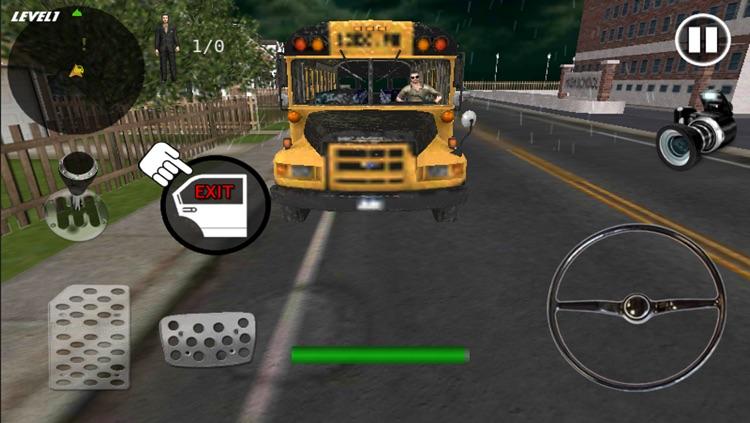 Crazy School Bus Driver 3D screenshot-4