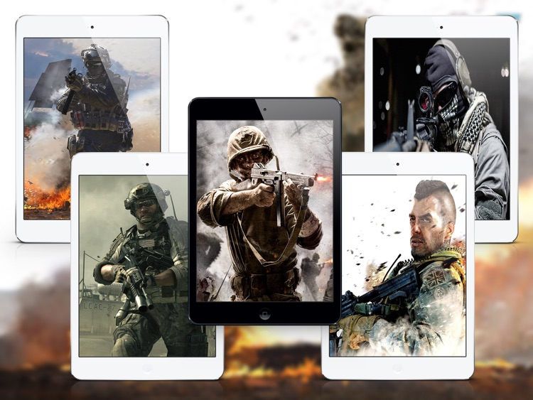 HD Wallpapers for COD - iPad Version screenshot-3