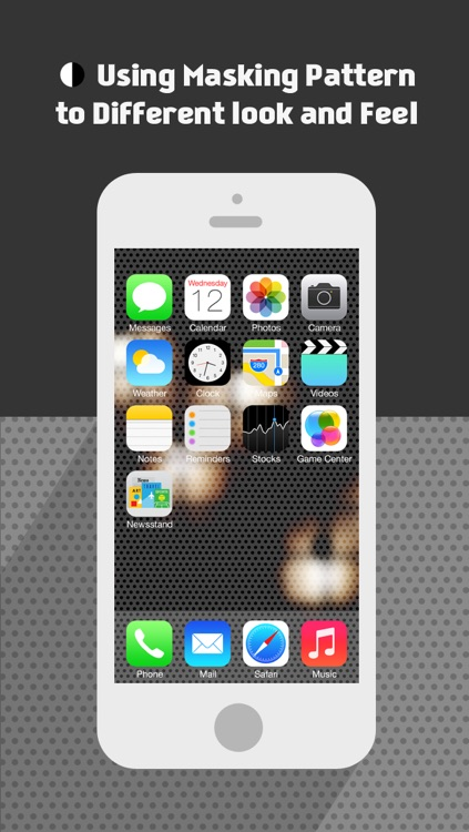 BGMaker Blurred Photo Wallpapers - Custom Backgrounds for iOS 7 (+Valentine's Day  Patterns) screenshot-4