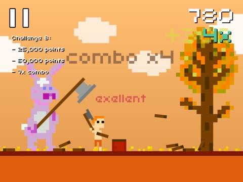 Screenshot #2 for Super Lumberjack
