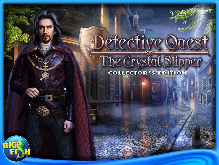 Detective Quest: The Crystal Slipper HD - A Hidden Object Adventure screenshot-4