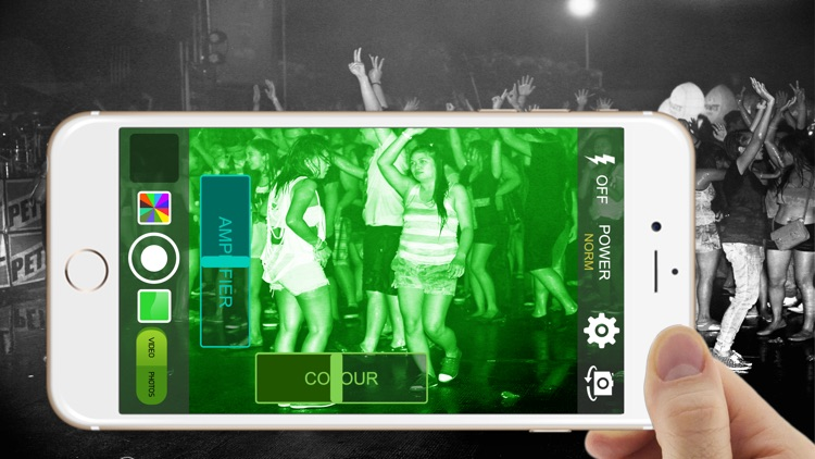 iNight Vision Camera Mode HD Photo & Video