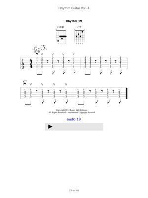 Rhythm Guitar Vol  4