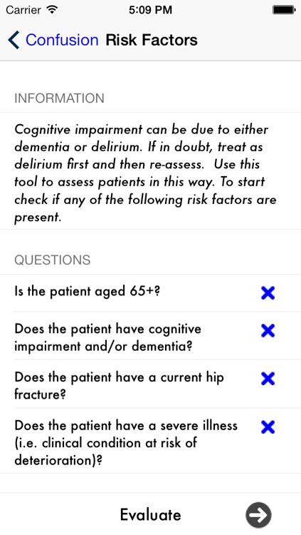Confusion: Delirium & Dementia screenshot-3