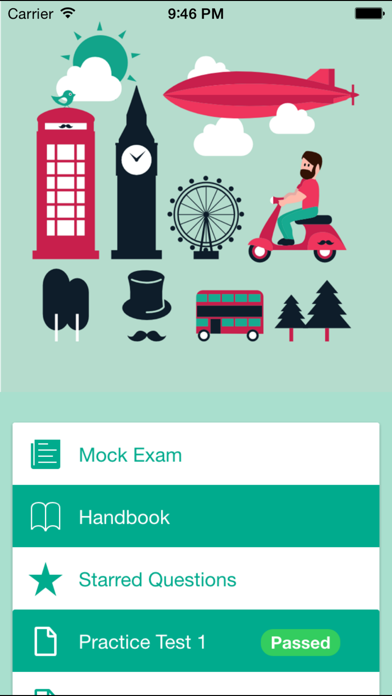 Life in the UK Test 2015 Free - UK Citizenship Test 2015 screenshot one