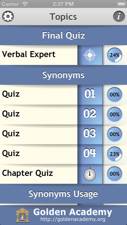 Verbal Expert : Synonyms and Antonyms by Golden Education Systems Ltd