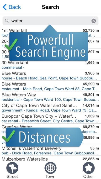 Capetown Travelmapp