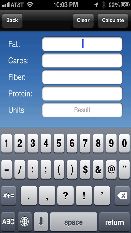 Restaurants & Nutrition : Fast Food Nutrition Plus Calculator for Food Score , Calories , Points , BMI , Weight Loss Diet  and Calorie Watchers Mobile App screenshot-3