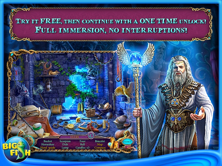 Mystery of the Ancients: Three Guardians HD - A Hidden Object Game App with Adventure, Puzzles & Hidden Objects for iPad