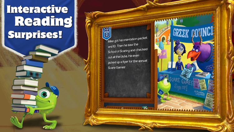 Monsters University Storybook Deluxe screenshot-3