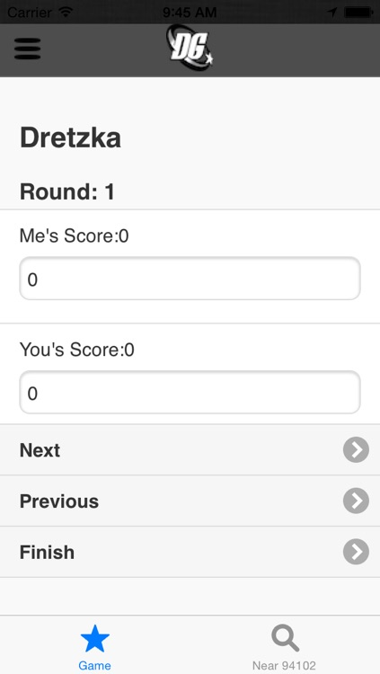 Disc Golf Score Keeper screenshot-3