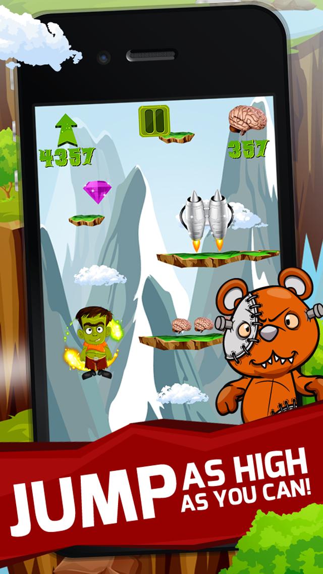 Zombie Hop 2 : Fun Free Jumpy Classic Arcade Adventure Games screenshot four