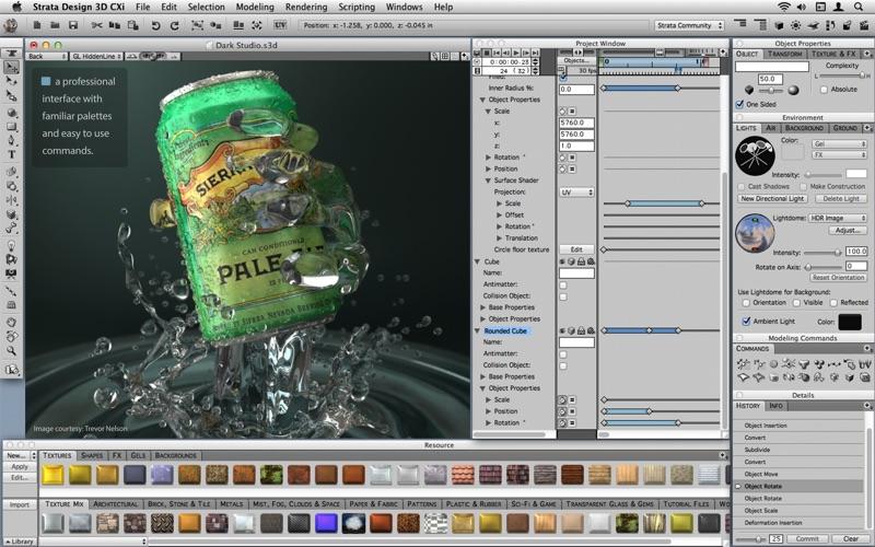 Strata Design 3D CXi скриншот программы 4