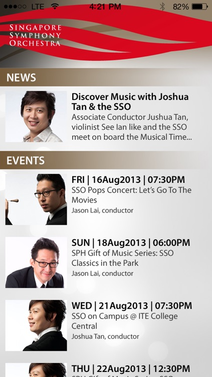 Singapore Symphony Orchestra - SSO screenshot-1
