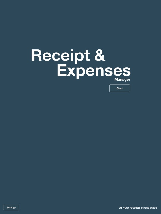 Expenses / Receipt Manager and Tracker for iPad screenshot-3