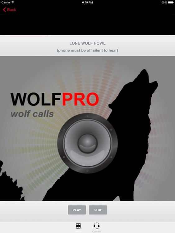 REAL Wolf Hunting Calls-Wolf Call-Wolf Calls Wolf screenshot-1