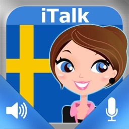 iTalk Swedish: Conversation guide - Learn to speak a language with audio phrasebook, vocabulary expressions, grammar exercises and tests for english speakers HD