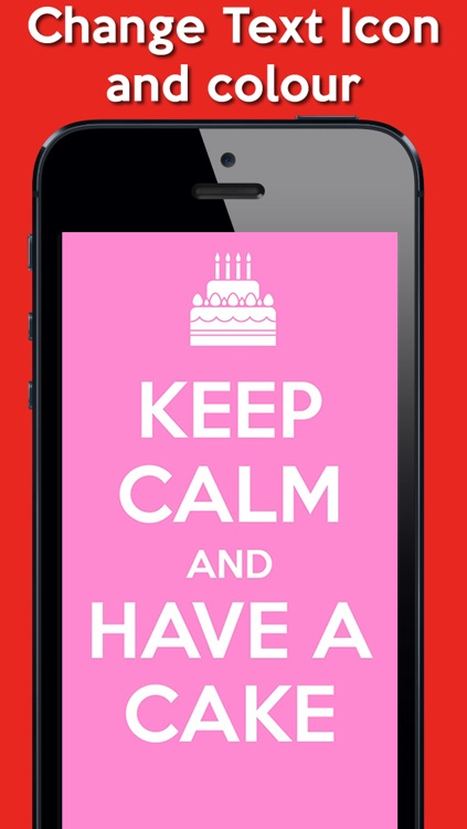Keep Calm Poster Generator FREE screenshot-1