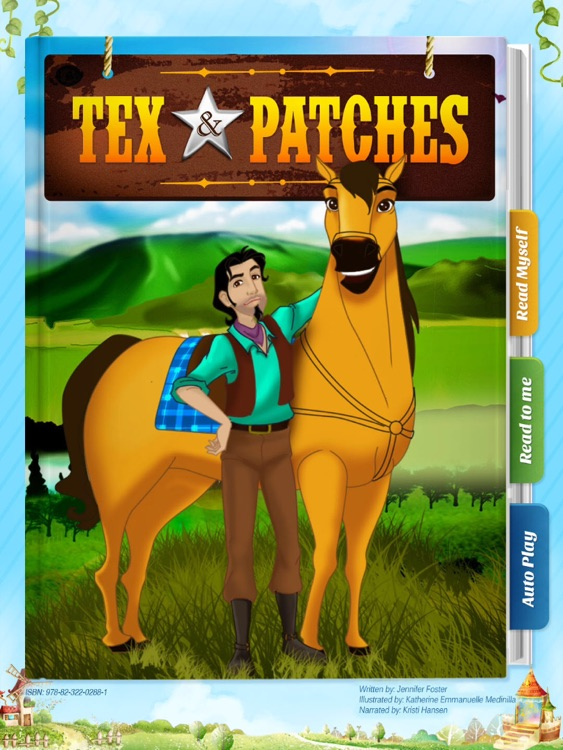 Tex and Patches - Have fun with Pickatale while learning how to read.