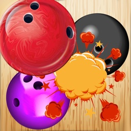 Bowling ball Match Puzzle - Align the ball to win the pin - Free Edition