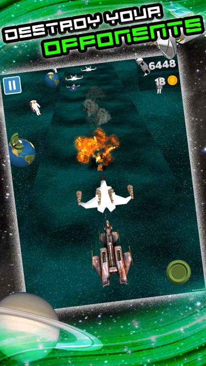 3D Space Craft Racing Shooting Game for Cool boys and teens by Top War Games FREE