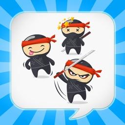 NinjaEmoji Pro: Send Ninja Themed Emoticons for Text + Messages