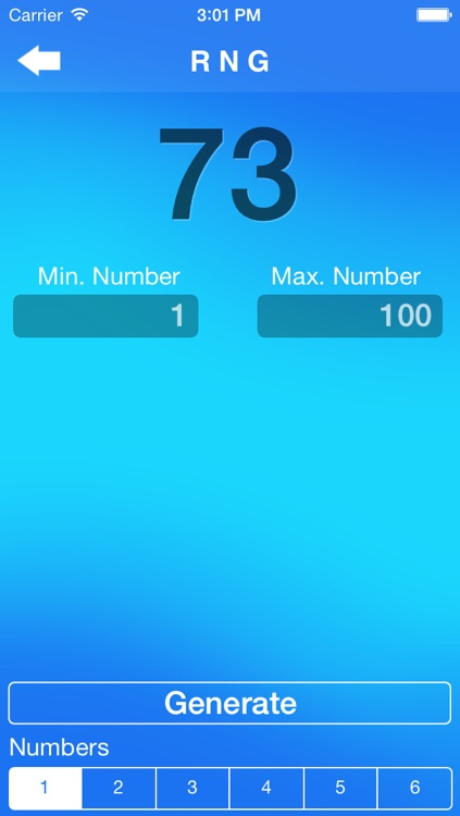 Random Number Generator + screenshot-1